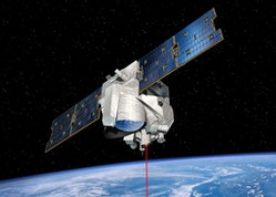 Un satellite du CNES en orbite autour de la terre