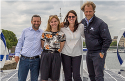The Canal+ Group teams onboard Energy Observer