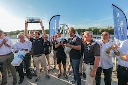 Energy Observer et le Groupe DELANCHY sont réunis lors d'un événement à Boulogne-sur-Mer en 2017