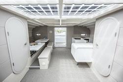 Energy Observer living area boat