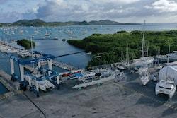 Chantier d'hiver 2020 au Marin, en Martinique