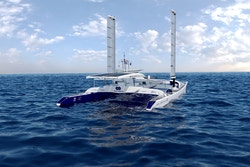 Energy Observer 3D image with Oceanwings®