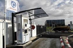 Photo de la station H2 d'Air Liquide à Orly