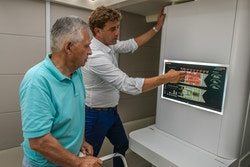 Marin presents Energy Observer's technologies to Dominique Ristori