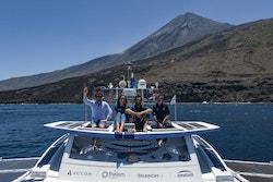 L'équipage d'Energy Observer sont sur le navire