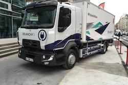 Photo du camion électrique Delanchy