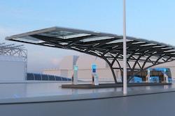 A hydrogen station