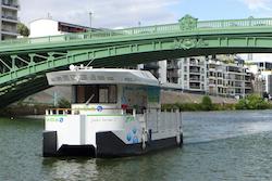Photo du Navibus à Nantes