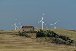 Wind Trrbines in Bari