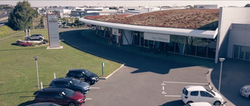 Picture of Toyota's green car dealership in La Rochelle