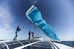 Picture of Energy Observer kite test