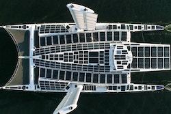 Energy Observer's solar pannels