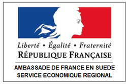 Logo of the French Embassy in Sweden