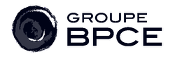Logo of Groupe BPCE in deep blue