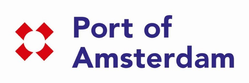Logo of the port of Amsterdam
