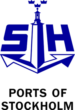 Logo of the ports of Stockholm