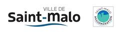 Logo de la ville et de l'agglomération de Saint-Malo
