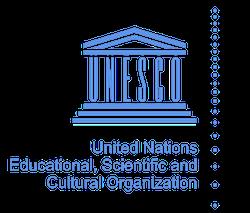 Logo UNESCO version française en couleurs