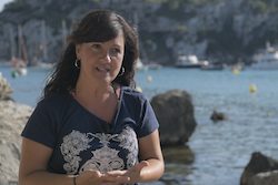 Irene Estaún, the director of the Minorca Biosphere Reserve
