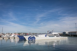 Energy Observer arrives in Royan Harbour