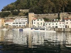 Energy Observer moored in San Sebastian
