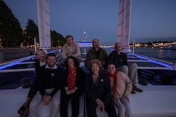 Energy Observer reçoit des invités à bord