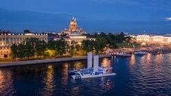 Energy Observer longe Saint-Petersbourg