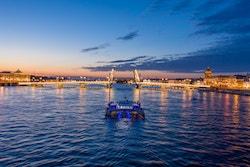 Photo d'Energy Observer à St Petersburg