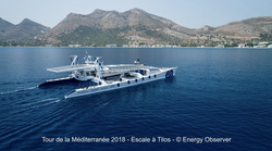 Energy Observer arrives in Tilos