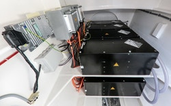 Picture of the Energy Observer's Double battery storage