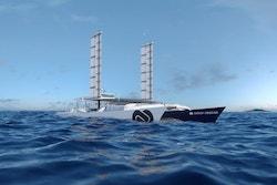 Photo des Oceanwings d'Energy Observer