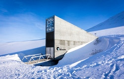 Picture of the Svalbard Seed Vault