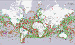 Live view of marine traffic