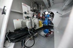 Picture of the Energy Observer compression system